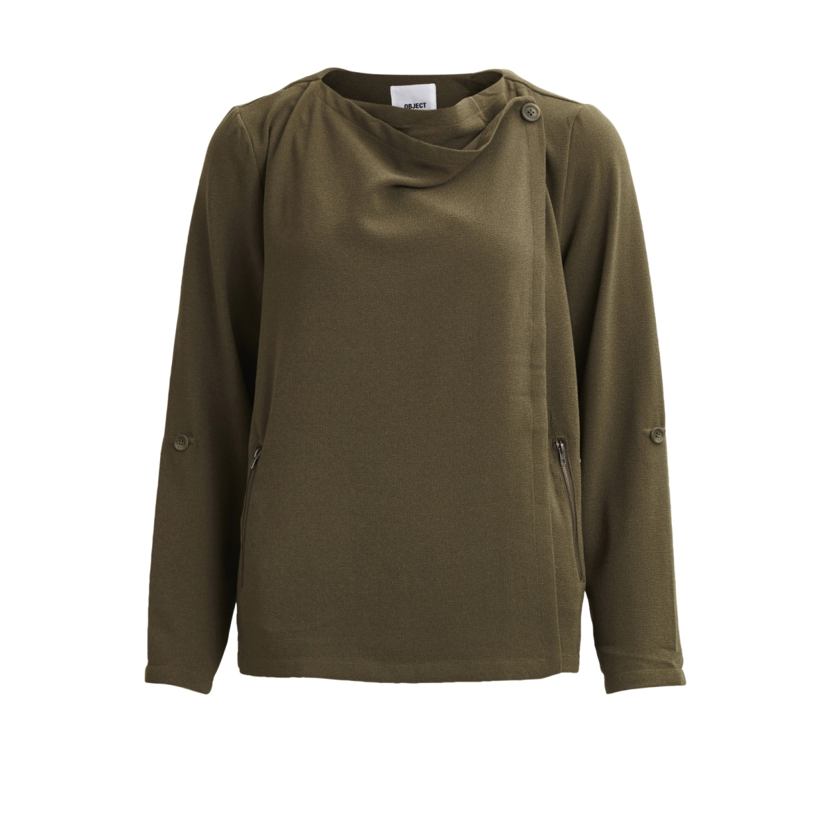 objannlee l/s blazer noos 23023665 object blazer ivy green