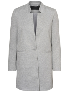 Vero Moda Blazer VMJUNE W/L LONG BLAZER DNM REP 10191507 Light Grey Melange