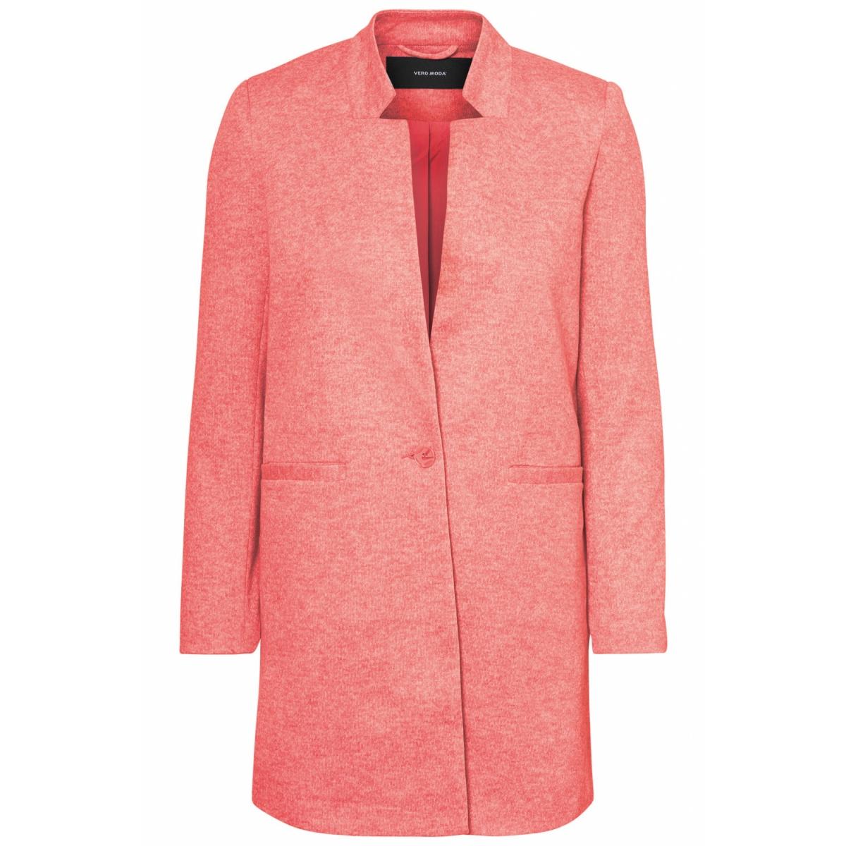 vmjune w/l long blazer dnm rep 10191507 vero moda blazer faded rose