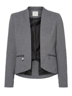 Vero Moda Blazer VMMAJAY L/S SHORT BLAZER DNM REP 10191155 Medium Grey Melange/ Lining