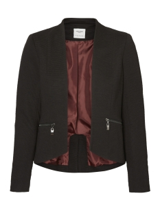 Vero Moda Blazer VMMAJAY L/S SHORT BLAZER DNM REP 10191155 Black/ Lining