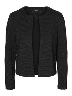 Vero Moda Vest VMEVA LS BLAZER JRS 10187830 Black/White Silver