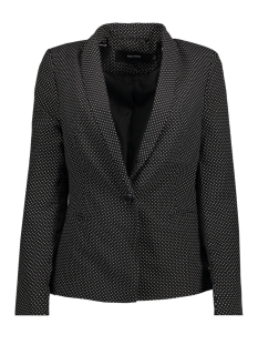 Vero Moda Blazer VMHELEN DOT LS BLAZER 10189263 Black/w white do