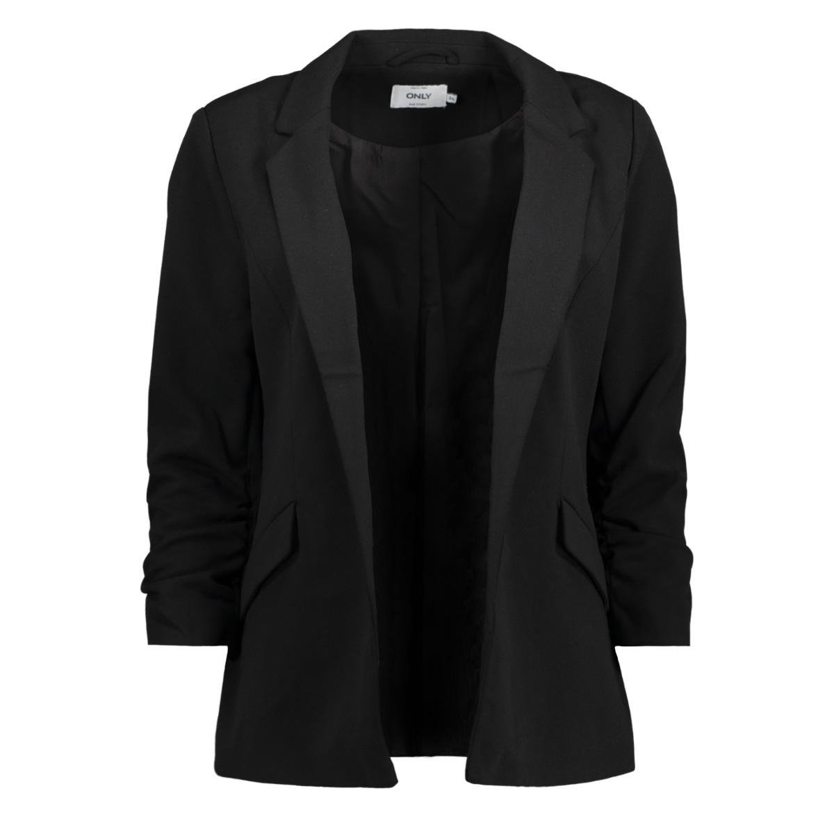 onldiana 3/4 sleeve blazer tlr 15146532 only blazer black