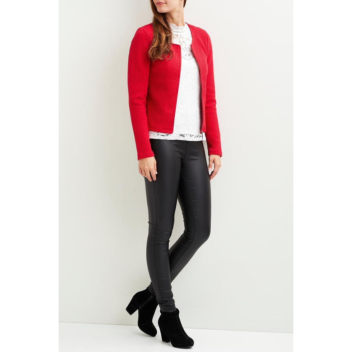 vinaja new short jacket-fav 14043895 vila vest chili pepper