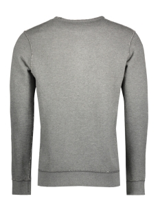 jpr37johnson sweat crew neck 12136871 jack & jones sweater grey melange