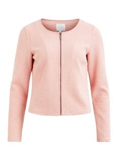 vinaja new short jacket-fav 14043895 vila vest bridal rose