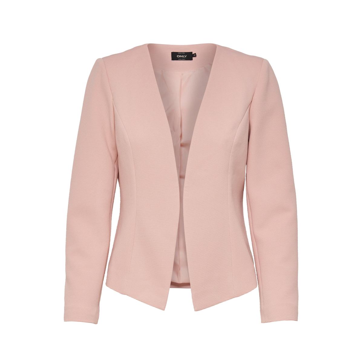 onlanna short blazer noos tlr 15152077 only blazer rose smoke. Black Bedroom Furniture Sets. Home Design Ideas