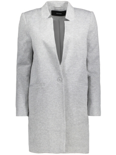 Vero Moda Blazer VMJUNE W/L LONG BLAZER DNM NOOS 10199223 Light Grey Melange