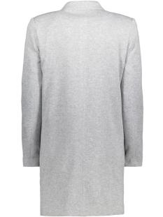 vmjune w/l long blazer dnm noos 10199223 vero moda blazer light grey melange