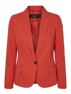 Vero Moda Blazer VMELLA 7/8 SHORT JACKET 10198040 Poppy Red