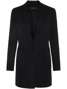 vmjune w/l long blazer dnm color 10205517 vero moda blazer black
