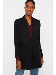 vmjune w/l long blazer dnm color vero moda blazer black
