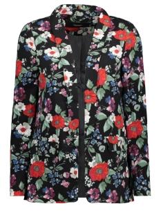 Vero Moda Blazer VMMILA FLOWER BLAZER VIP 10207788 Black/FLOWERS