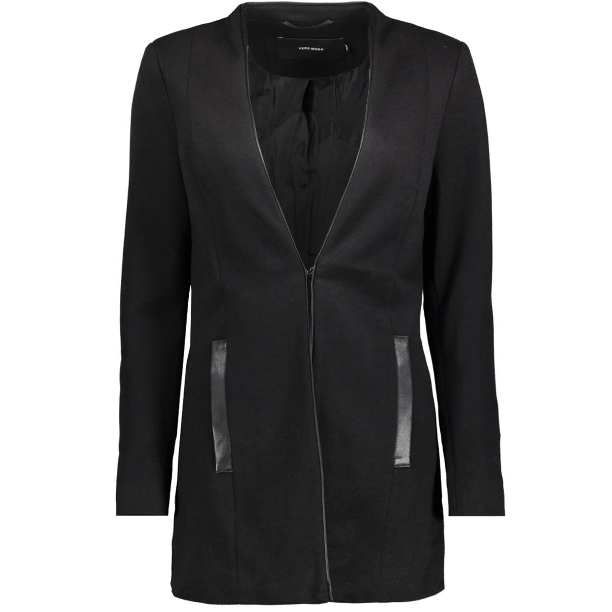 vmgail ls long blazer 10201478 vero moda blazer black