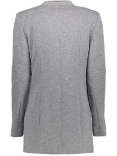 vmgail ls long blazer 10201478 vero moda blazer dark grey melange