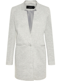 vmjune w/l long blazer dnm color 10205517 vero moda blazer light grey melange