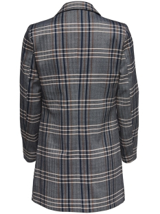 onlnina l/s check blazer tlr 15167440 only blazer medium grey melange/mgm checks