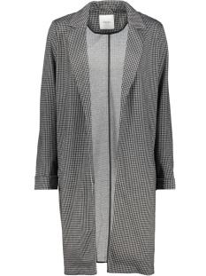 pclori coatigan noos 17093437 pieces jas black/houndstoot