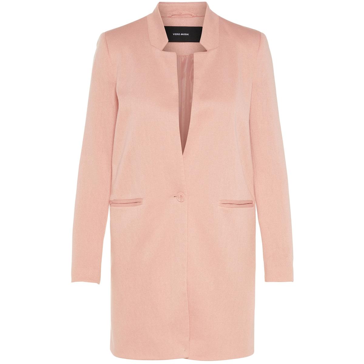 vmjune w/l long blazer dnm noos 10199223 vero moda blazer misty rose