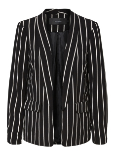 Vero Moda Blazer VMSTRIPED BLAZER EXP 10202490 Black/SNOW WHITE