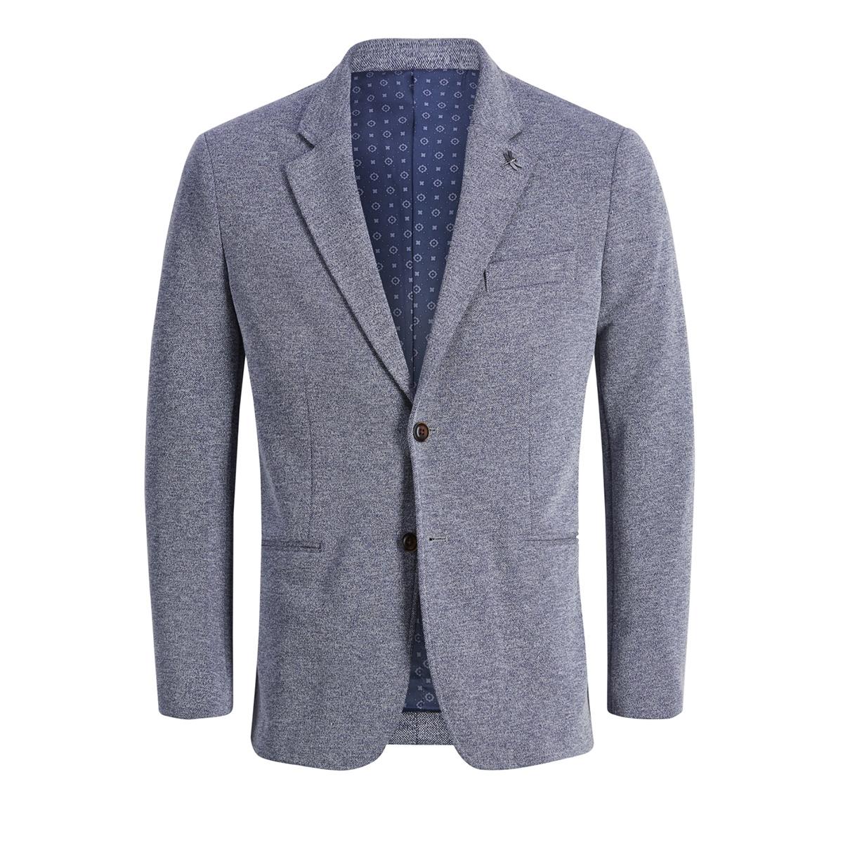jprsimon blazer noos 12149223 jack & jones colbert chambray blue