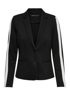 Only Blazer onlPOPTRASH PANEL BLAZER 15178939 Black/CLOUD DANCER