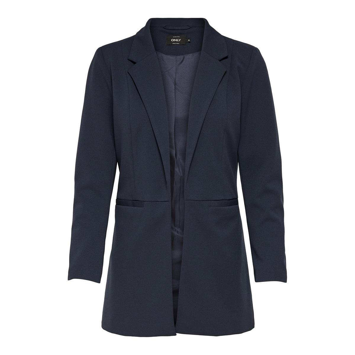 onlcarolina l/s long blazer tlr 15169250 only blazer blue nights