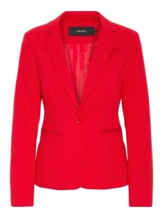Vero Moda Blazer VMVICTORIA LS BLAZER COLOR 10199385 Fiery Red