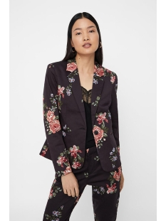 vmvictoria ls print blazer 10214695 vero moda blazer navy blazer/flowers
