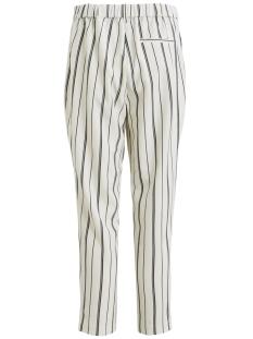 objeva siringo mw pant 103 23029545 object broek gardenia/w. black stripes