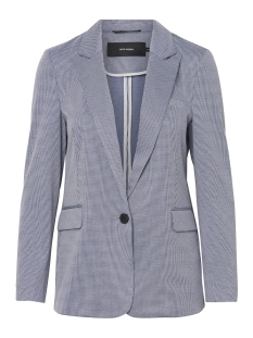 vmtoni 7/8 blazer 10211601 vero moda blazer night sky/with prist