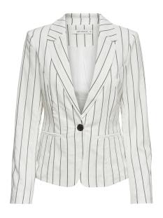 Jacqueline de Yong Blazer JDYCHARLOT STRIPED BLAZER PNT 15176050 White/NAVY BLAZE