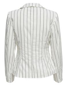 jdycharlot striped blazer pnt 15176050 jacqueline de yong blazer white/navy blaze