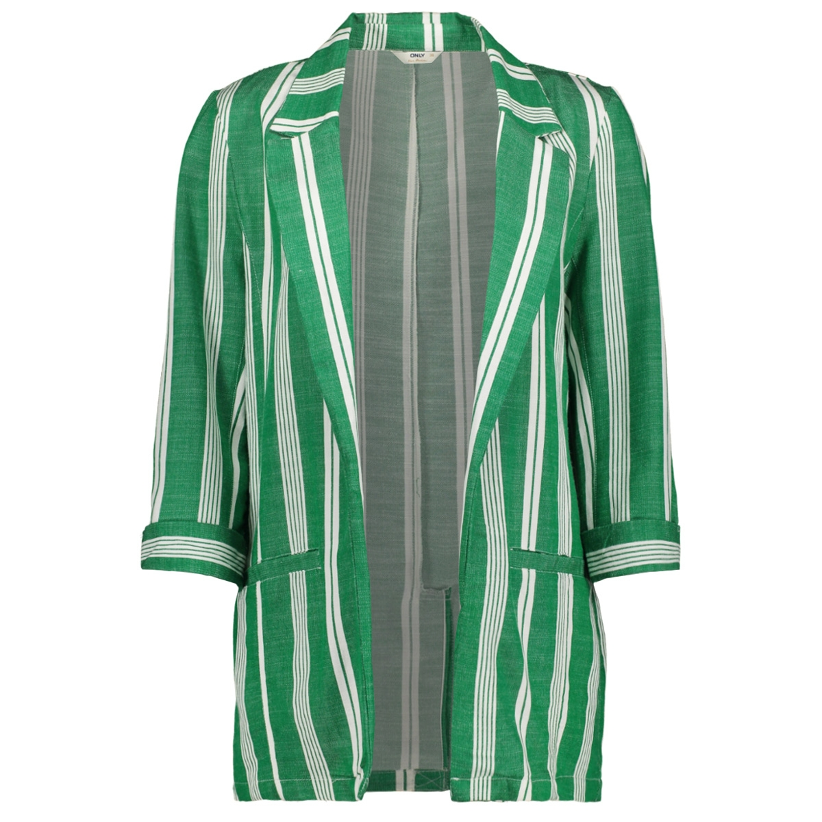 onlpaloma stripe blazer pnt 15176613 only blazer white/mint
