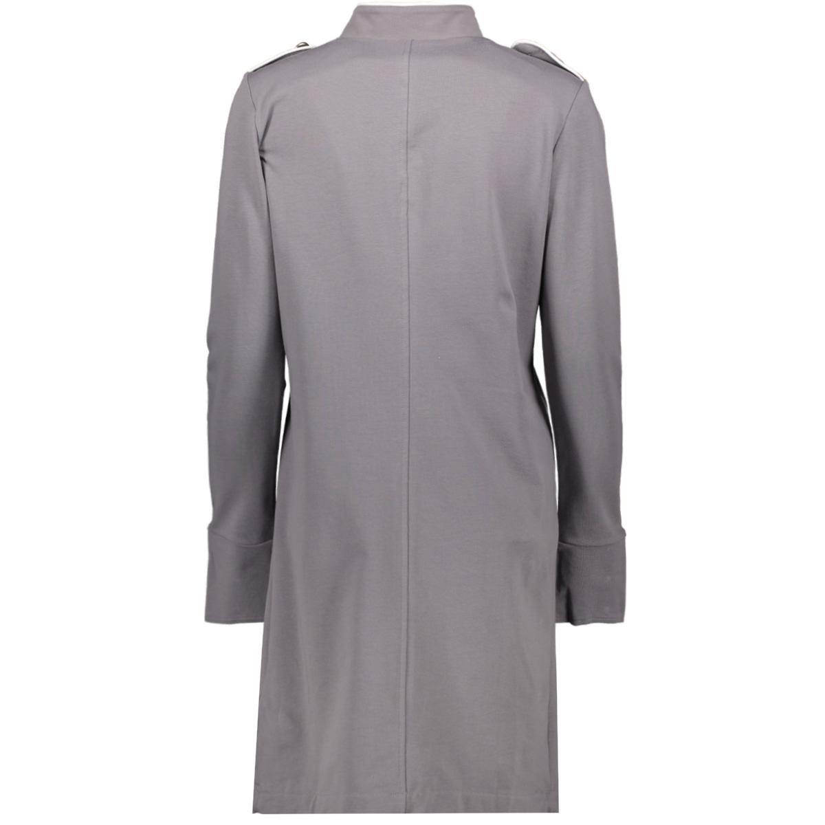 steffie long milatary blazer 192 zoso blazer grey/white