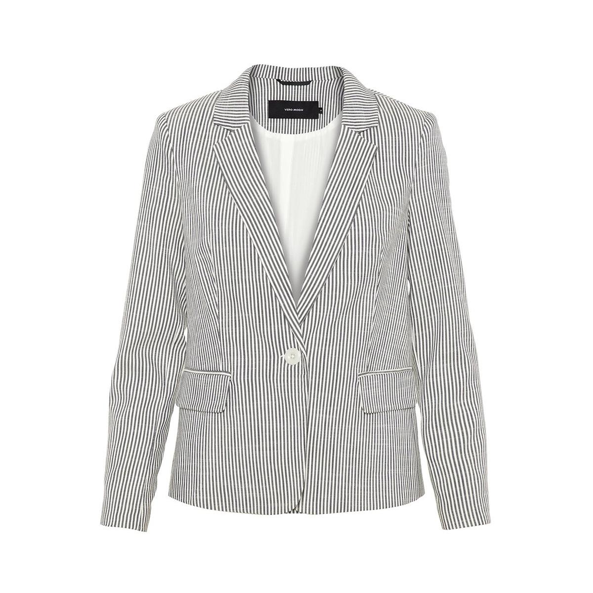vmgally 7/8 blazer 10214319 vero moda blazer night sky/snow white