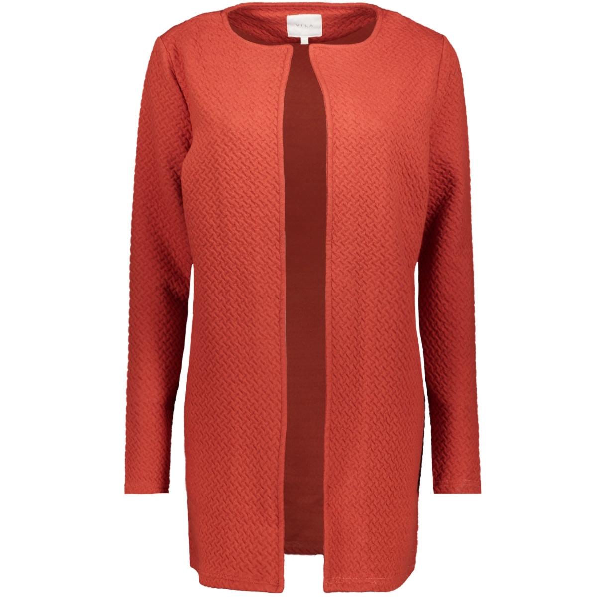 vinaja new long jacket-fav 14043894 vila vest ketchup