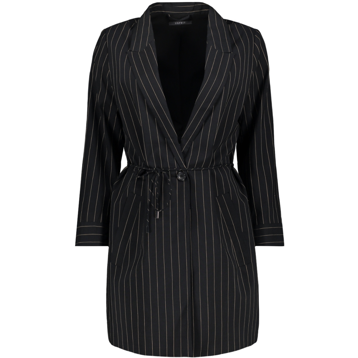 lange blazer met streeppatroon 079eo1g003 esprit collection blazer e001
