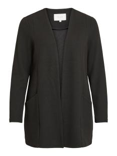 visavia l/s coatigan - noos 14052544 vila vest black