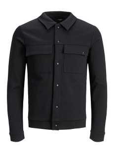 Jack & Jones Jas JPRHAL BLA. SWEAT JACKET 12159229 Black/SLIM FIT