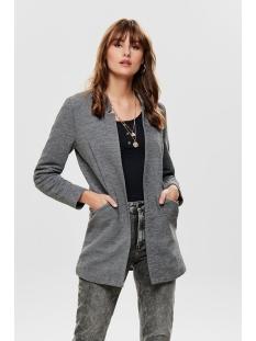 onllinda l/s coatigan cc otw 15178687 only vest medium grey melange