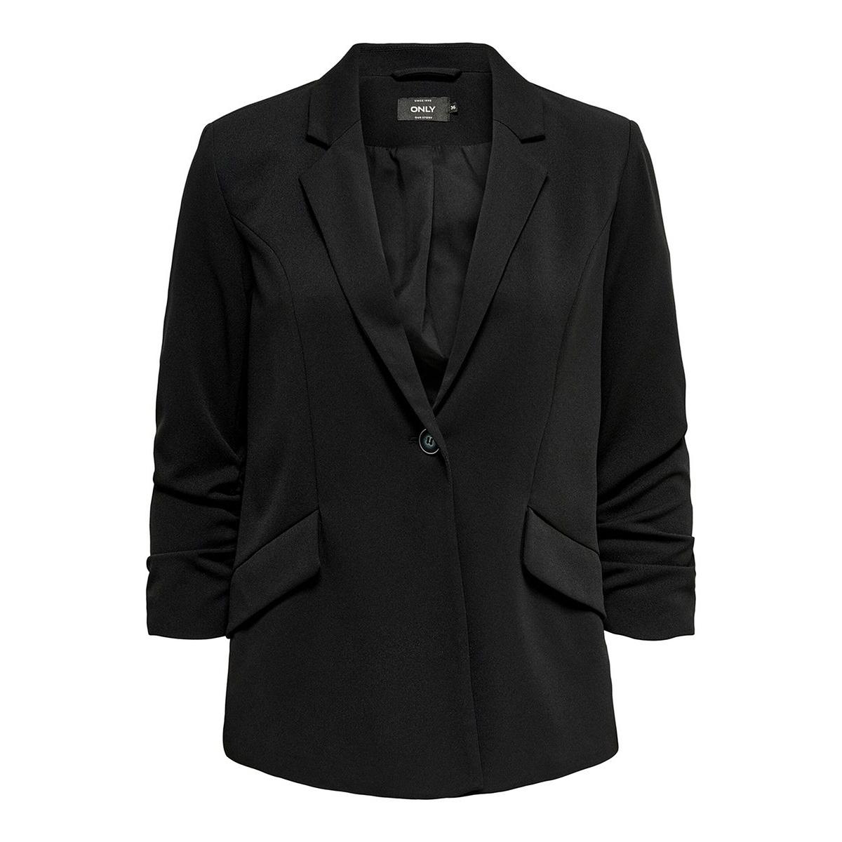 onlcarolina 3/4 blazer cc tlr 15180106 only blazer black