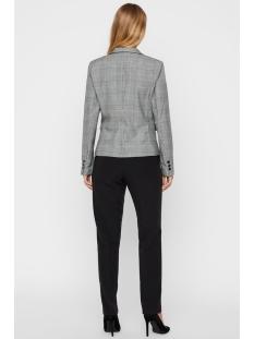 vmjuliane ls blazer checked 10223637 vero moda blazer grey/white