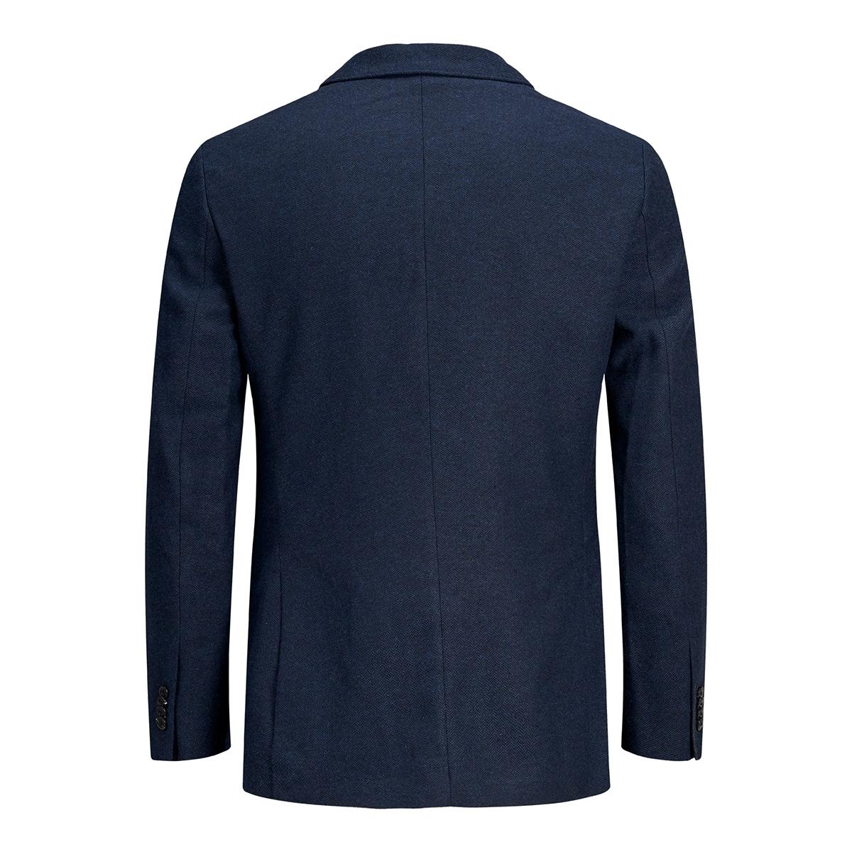 jprcolton  hawk blazer sts 12161344 jack & jones colbert dark navy/slim fit