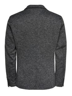 onsmatti herringbone  casual blazer 22014704 only & sons colbert dark grey