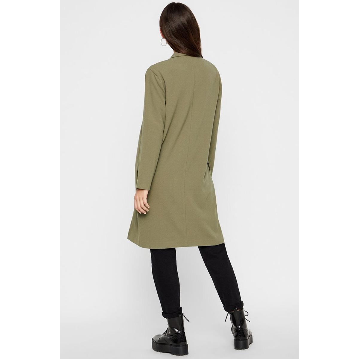 pckana ls coatigan noos 17100712 pieces blazer deep lichen green