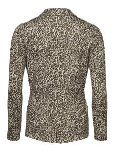 blazer jacquard leopard 95555 geisha blazer sand comb