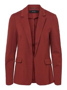 Vero Moda Blazer VMNINA L/S BLAZER BOX 10220887 Madder Brown/SOLID