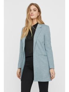 vmjaney l/s long blazer color 10227531 vero moda blazer slate/melange